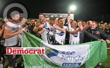 Dundalk FC's title crowning game to be shown live on TV
