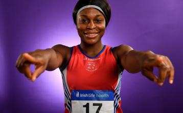 Dundalk athlete Patience Jumbo-Gula launches Irish life Health as an official sponsor to Athletics Ireland