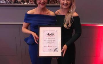 Four Seasons Hotel wins Leinster Spa Hotel of the Year