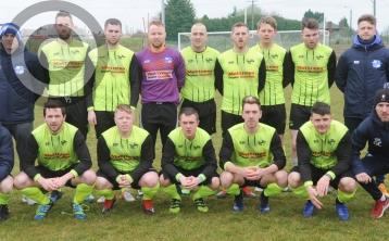 Braces for Clarke, Hearty and O'Kane as Muirhevna stick seven past Newfoundwell