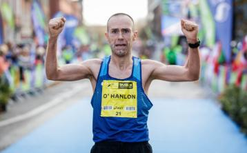 'Lucky the finish came when it did...' - Kilkerley's Gary O'Hanlon celebrates after defending Cork Marathon title