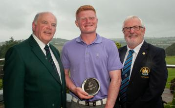 Dundalk Golf Club's Josh Mackin goes agonisingly close to victory at Leinster Boys U18 Championship