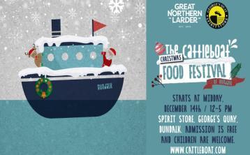Cattleboat Food Festival returns to Dundalk for Christmas-themed event