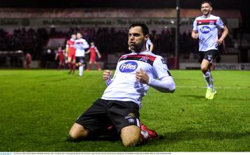 Champions Dundalk FC pip plucky Shelbourne at Tolka Park