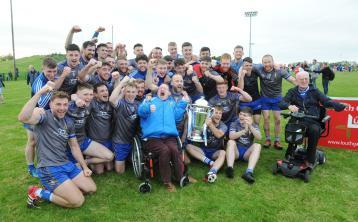 Naomh Mairtin claim first-ever Louth Senior Football Championship title