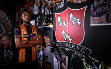 Junior Ogedi-Uzokwe signs for Dundalk