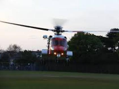 Social media lights up as Coastguard helicopter flies low