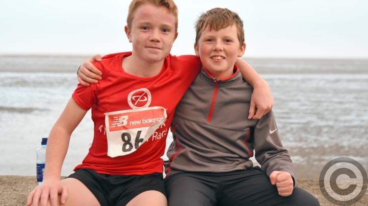 IN PICTURES   Stephen Carroll/Captain Mark Duffy 4 mile run in Blackrock