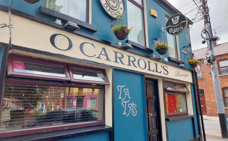Photos: Pubs and restaurants reopen in Dundalk yesterday