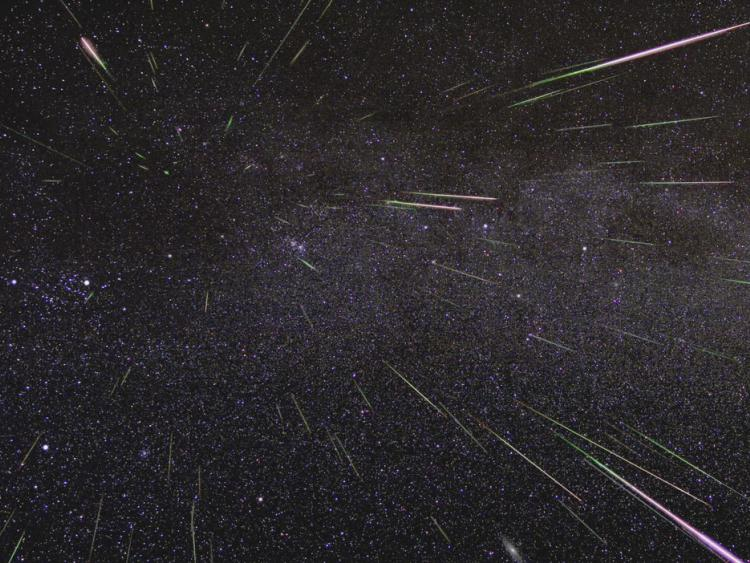 Perseids meteor shower on Saturday