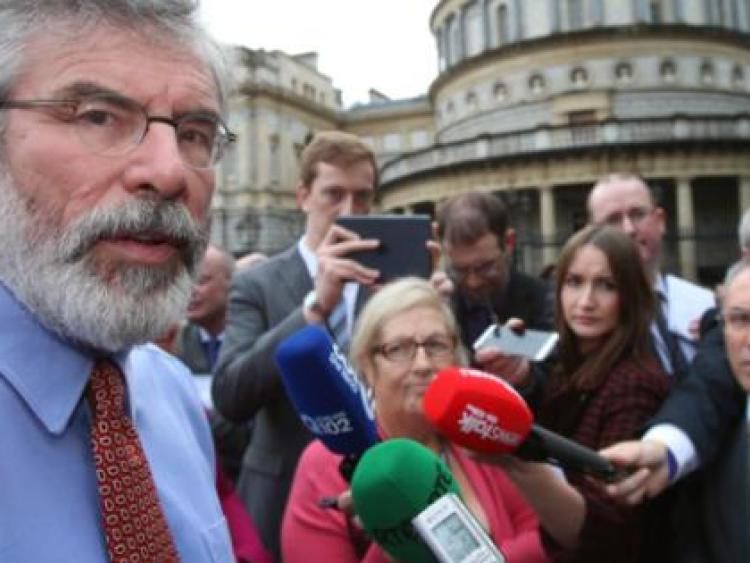 Adams to announce his plans for future in speech to party
