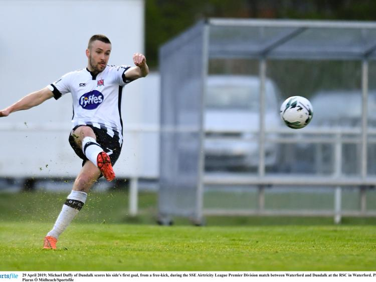 337455b8a4e Duffy's brace and Flores' rocket helps Dundalk FC to impressive win in  Waterford