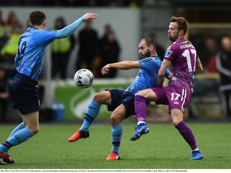 3fc17445c79 Dundalk FC qualify for semi-finals of EA SPORTS Cup after Oriel win over UCD