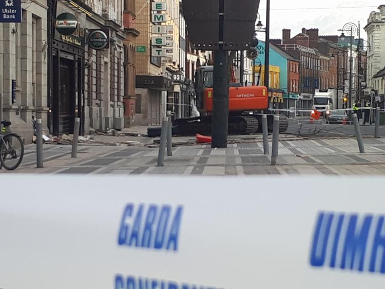 Scene of double ATM theft in Dundalk main street